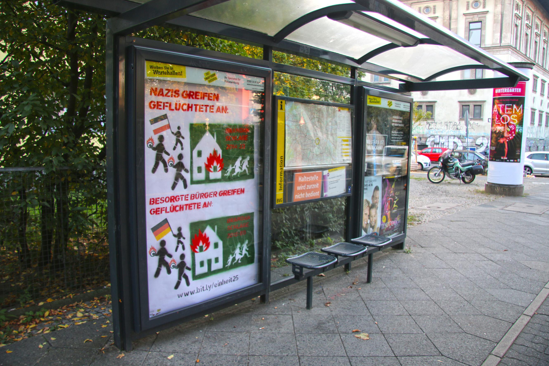 Adbusting in Berlin, 3.10.2015