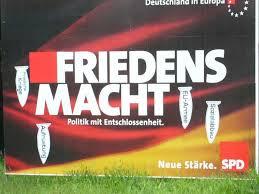 Friendesmacht Europa. SPD-Adbusting zur Europawahl 2004.