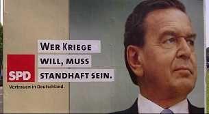 SPD-Abusting gegen Krieg, 2005