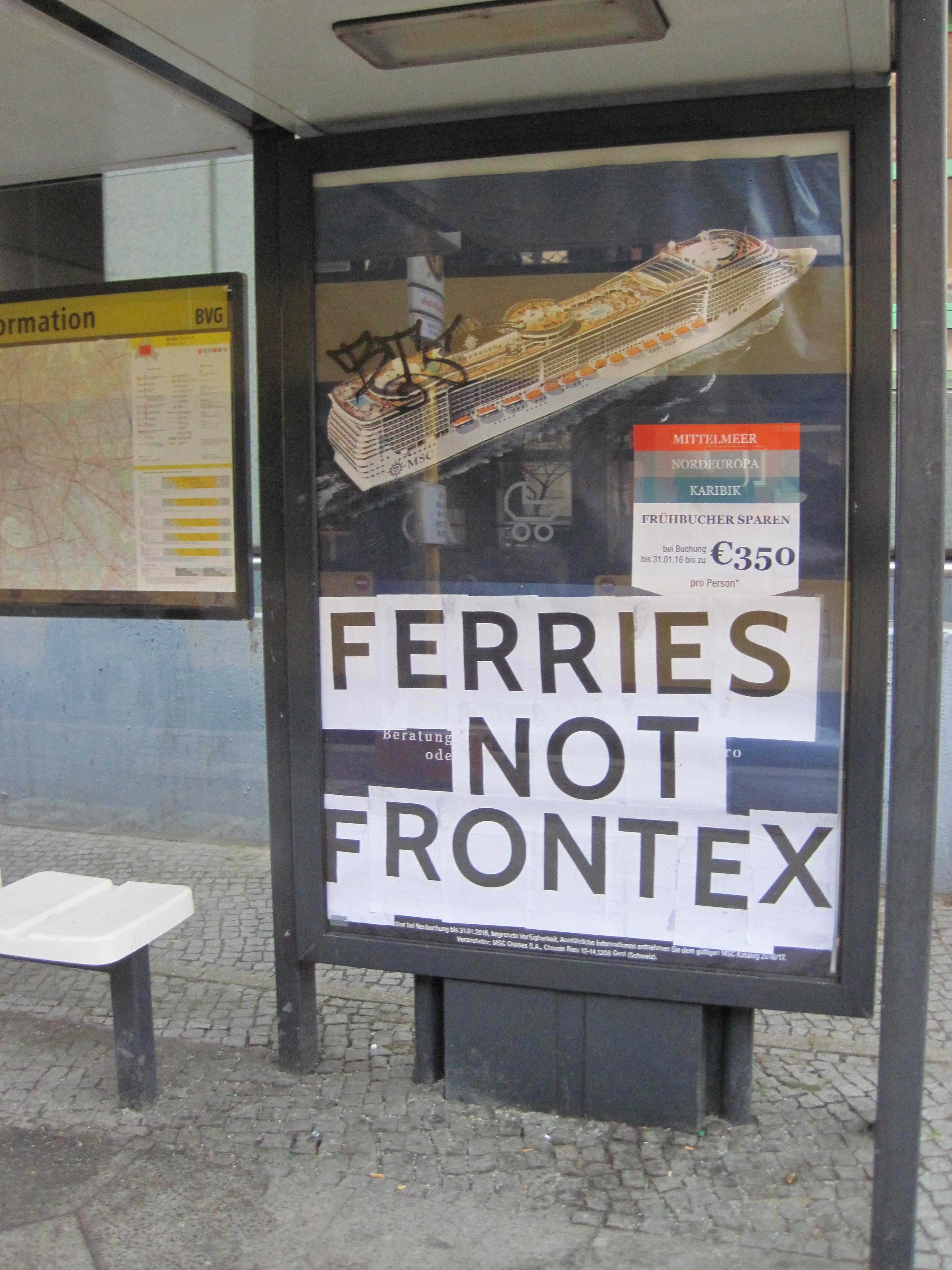 ferrys not Frontex